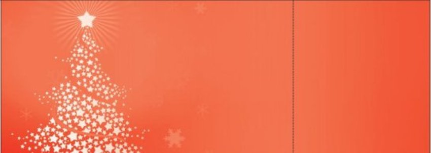 Red Christmas Tree Tickets | by FreshTix Ticket Printing