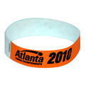 Customize any Tab-Free Tyvek wristband with your own text and/or image