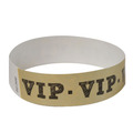 500 Gold VIP Tyvek Wristbands