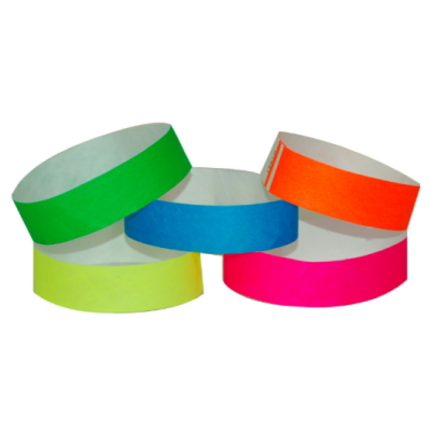 Variety Pack Tyvek Event Wristbands