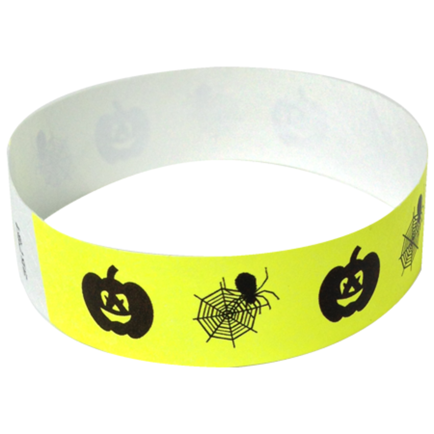 Yellow Spiderweb Wristbands