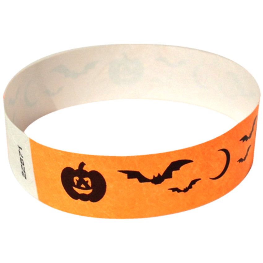 Orange Bats Wristbands