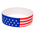 Stars & Stripes Tyvek Wristbands