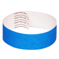 Blue Tab-free Tyvek Wristbands