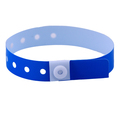 Blue Plastic Wristbands