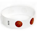 "500 Basketball 3/4"" Tyvek Wristbands"